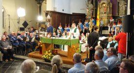 Messe en wallon: l'abbé Malherbe présent dans tous les esprits