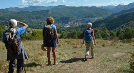 A pied sur le chemin d'Assise  : Du Piémont aux Apennins