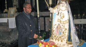 Le père Félicien, nouveau recteur du sanctuaire de Foy-Notre-Dame