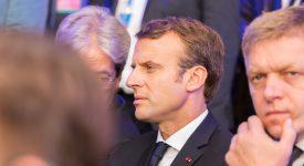 Emmanuel Macron reçoit le Prix Charlemagne 2018