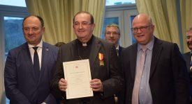 Mgr Guy Harpigny récompensé par le Gouvernement wallon