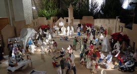 Une crèche des santons à Sainte-Alix