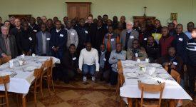 Rencontre des prêtres venus d'ailleurs avec l'Evêque et son Conseil