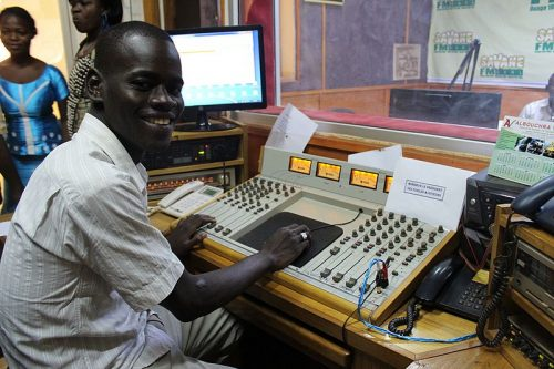 Radio au Burkina Faso