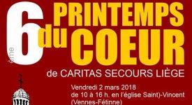 Campagne «Printemps du Cœur » de Cartias Secours Liège