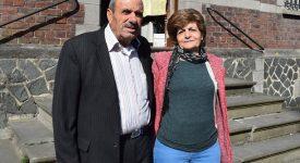 Couloir humanitaire : une première famille à Lessines