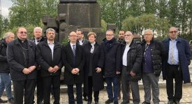 Pèlerinage de la mémoire à Auschwitz avec les chefs de culte et de la laïcité