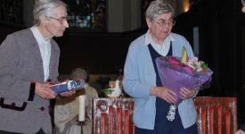 Sœur Christiane et sœur Jeanne quittent Louvranges
