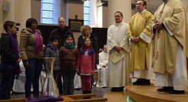 Les familles au cœur de la messe chrismale