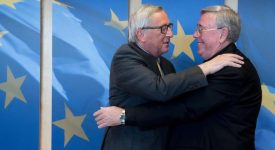 Comece: première rencontre officielle entre Mgr Hollerich et Jean-Claude Juncker