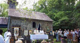 Vodelée: pèlerinage à Notre-Dame de Bonne Fontaine le lundi de Pentecôte