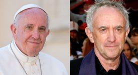 Tournage à Rome d'un film sur les papes Benoît XVI et François