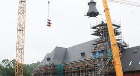 Paix-Dieu :  L'ancienne abbaye  a retrouvé son clocher