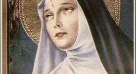 Sainte Rita, fêtée le 22 mai au sanctuaire de Bouge