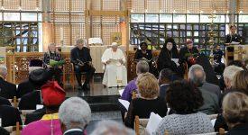 Le pape François au Conseil oecuménique des Eglises