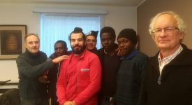 Le curé de Zeebruges menacé parce qu'il aide des migrants