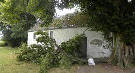 Oizy: d'importants dégâts à la chapelle N.-D. de Bon Secours