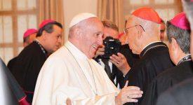 pape francois rencontre la presse