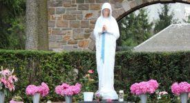 Le Bw à Banneux, auprès de la Vierge des Pauvres