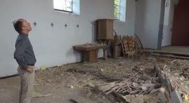 Vidéo – Désastre dans l'église de Fays-Famenne