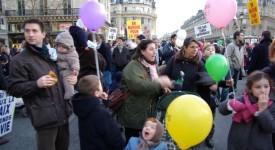Paris :7ème marche pour la vie
