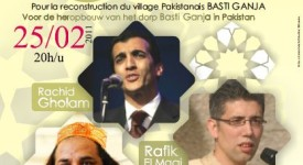 concert caritatif pakistan