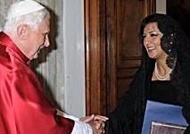 L'ambassadrice d'Egypte auprès du Vatican reprend son poste