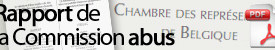 Rapport de la Commission abus (Lalieux)