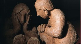 Gand: Exposition des sculptures de grès et de bronze de Myriam Kahn