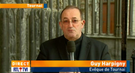 Mgr Guy Harpigny sur RTL-TVI