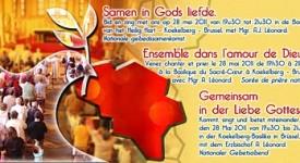 Prière et ferveur autour de la Belgique