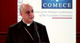 Mgr Fisichella participera à la prochaine session du Renouveau à Bruxelles
