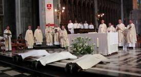 Liège: ordination diaconale d'un séminariste