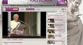Le Vatican sur YouTube, désormais en français également