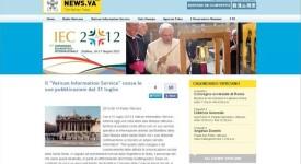 Le Saint-Siège va fermer le Vatican Information Service