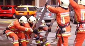 Sainte-Anne brûle à Anvers