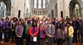 Dimanche «in albis» à la cathédrale de Bruxelles