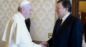 Quand Barroso parle de la crise avec François…
