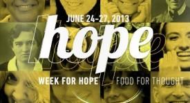UE : Week for hope !
