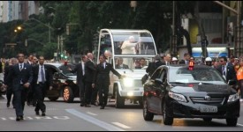Carnet de route des JMJ : les jeunes belges ont croisé le pape