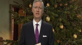 Premier discours de Noël du roi Philippe