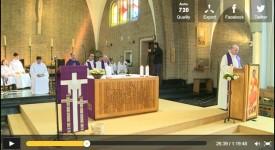 Bruxelles : la première messe exclusivement sur Internet