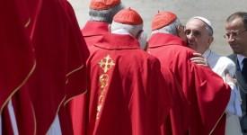 Le Pape François a ouvert le consistoire consacré à la réforme de la curie