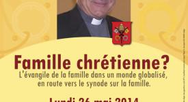 Mgr Vincenzo Paglia en conférence à Liège le 26 mai