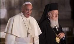 François redit son désir de rapprochement avec les orthodoxes