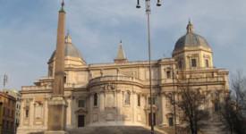 Rome : Des SDF hébergés dans une basilique