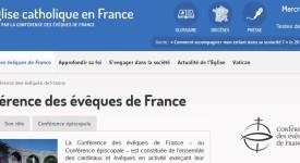 Relooking du site de la Conférence épiscopale de France