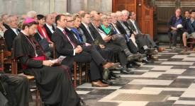 Inauguration des vitraux de la Cathédrale Saint-Paul à Liège : les photos et l'intervention de Mgr Delville !