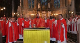 Messe de la Saint Lambert à Liège. Mgr Delville : «Nous sommes invités à vivre notre foi en famille !»