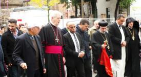 Malines : Musulmans, chrétiens, yézidis marchent ensemble pour la paix